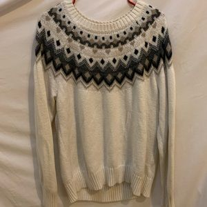 Old Navy thicker knit sweater. Warm and cozy!